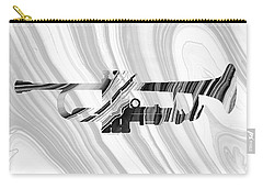Marbled Music Art - Trumpet - Sharon Cummings Carry-all Pouch by Sharon Cummings