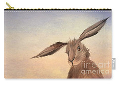 March Hare Carry-all Pouch by John Edwards
