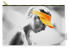 Maria Sharapova Stay Focused Carry-all Pouch by Brian Reaves