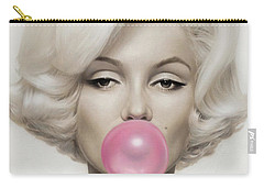 Marilyn Monroe Carry-all Pouch by Vitor Costa