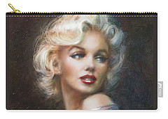 Marilyn Ww Soft Carry-all Pouch by Theo Danella
