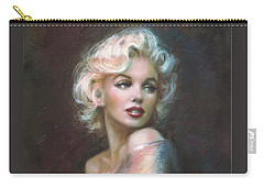 Marilyn Ww  Carry-all Pouch by Theo Danella