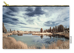Marshlands In Washington Carry-all Pouch by Jon Glaser
