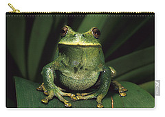 Marsupial Frog Gastrotheca Orophylax Carry-all Pouch by Pete Oxford