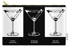 Martini Week Carry-all Pouch by Jon Neidert