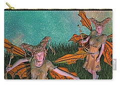 Maybe And Maybe Not 7236 Carry-all Pouch by Betsy Knapp
