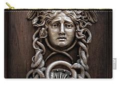 Medusa Head Door Knocker Carry-all Pouch by Edward Fielding