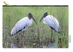 Meeting Of The Minds Carry-all Pouch by Carol Groenen