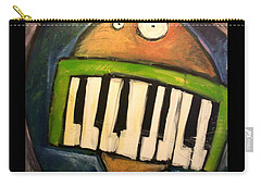 Melodica Mouth Carry-all Pouch by Tim Nyberg