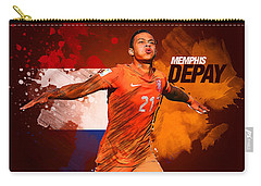 Memphis Depay Carry-all Pouch by Semih Yurdabak