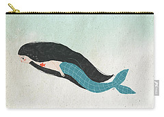Mermaid Carry-all Pouch by Carolina Parada