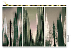 Metropolis Triptych Carry-all Pouch by Jessica Jenney