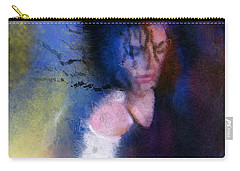 Michael Jackson 16 Carry-all Pouch by Miki De Goodaboom