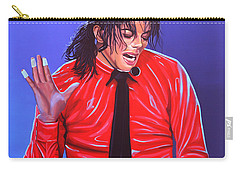 Michael Jackson 2 Carry-all Pouch by Paul Meijering