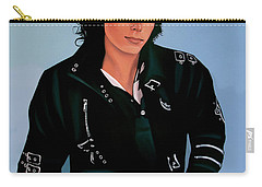 Michael Jackson Bad Carry-all Pouch by Paul Meijering