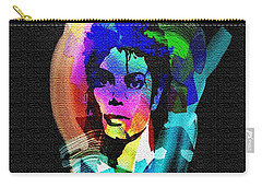 Michael Jackson Carry-all Pouch by Mo T