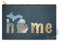 Michigan My Home Carry-all Pouch by Emily Kay