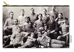 Michigan Wolverine Football Heritage 1890 Carry-all Pouch by Daniel Hagerman