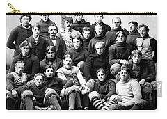 Michigan Wolverines Football Heritage  1895 Carry-all Pouch by Daniel Hagerman