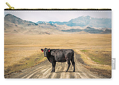 Middle Of The Road Carry-all Pouch by Todd Klassy
