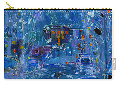 Midnight  Carry-all Pouch by Tanya Filichkin