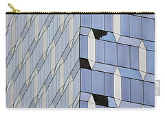 Midtown Architecture  Carry-all Pouch by Sandy Taylor