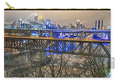 Minneapolis Bridges Carry-all Pouch by Craig Voth