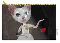 Miss Kitty Carry-all Pouch by Juli Scalzi