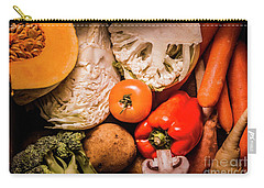 Mixed Vegetable Produce Pack Carry-all Pouch by Jorgo Photography - Wall Art Gallery