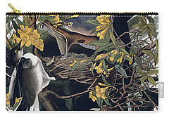 Mocking Birds And Rattlesnake Carry-all Pouch by John James Audubon