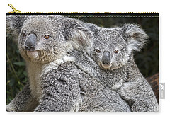 Mommy Hugs Carry-all Pouch by Jamie Pham