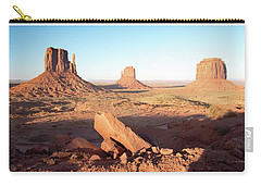 Carry-all Pouch featuring the photograph Monument Valley, Utah by A Gurmankin