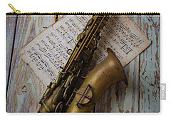 Moody Sax Carry-all Pouch by Garry Gay