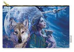 Moonlit Brethren Variant 1 Carry-all Pouch by Andrew Farley