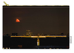 Moscow By Night Carry-all Pouch by Stelios Kleanthous