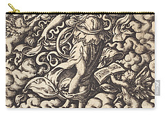Musica Carry-all Pouch by Virgil Solis or Virgilius Solis