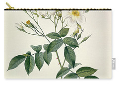 Musk Rose Carry-all Pouch by Pierre Joseph Redoute