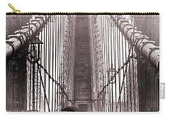 Mystery Man Of Brooklyn Carry-all Pouch by Az Jackson