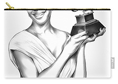 Natalie Cole Carry-all Pouch by Greg Joens