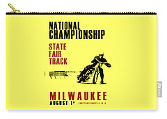 National Championship Milwaukee Carry-all Pouch by Mark Rogan