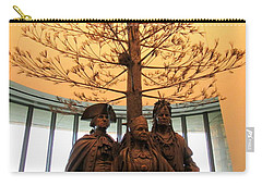 National Museum Of The American Indian 7 Carry-all Pouch by Randall Weidner