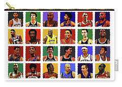 Nba All Times Carry-all Pouch by Semih Yurdabak