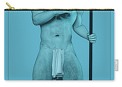 Blue Neptune Carry-all Pouch by Quim Abella