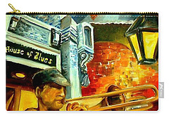 New Orleans' House Of Blues Carry-all Pouch by Diane Millsap