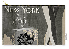 New York Style I Carry-all Pouch by Mindy Sommers