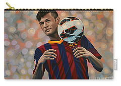 Neymar Carry-all Pouch by Paul Meijering