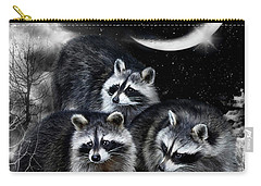 Night Bandits Carry-all Pouch by Carol Cavalaris