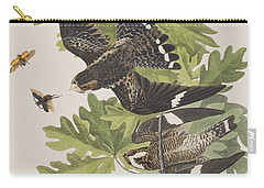 Night Hawk Carry-all Pouch by John James Audubon