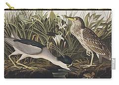 Night Heron Or Qua Bird Carry-all Pouch by John James Audubon
