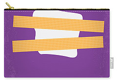 No015 My Chinatown Minimal Movie Poster Carry-all Pouch by Chungkong Art